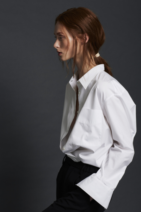 EMMA EGYPTIAN COTTON SHIRT