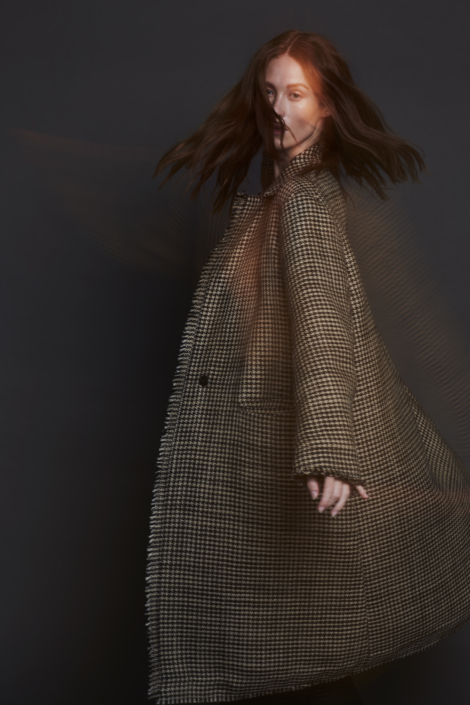 LIS LAREIDA – RECYCLED FABRIC POLYESTER COAT