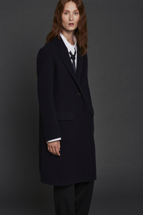 LIS LAREIDA – WOOL CASHMERE DOUBLE FACE COAT