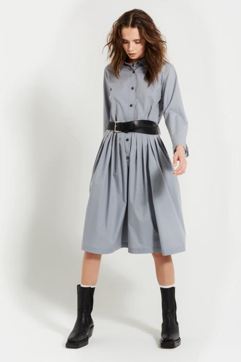 LIS LAREIDA – COTTON POPLIN EXTRAFINE STRETCH DRESS