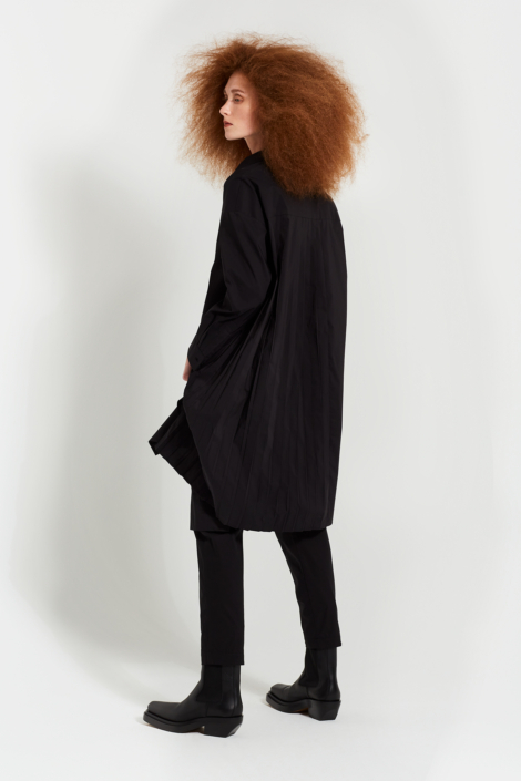 LIS LAREIDA – TECHNO POPLIN NATURAL STRETCH DRESS SHIRT