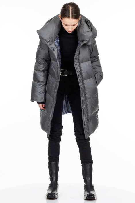 TONI WATER REPELLENT POLYESTER DOWN COAT