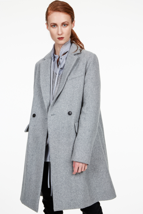 TOTO FELTED WOOL COAT